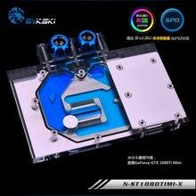 Bykski N-ST1080TIMI-X GPU Water Cooling Block for ZOTAC GTX 1080Ti Mini
