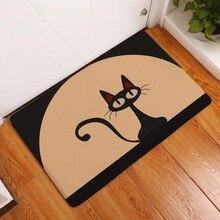 Kawaii Добро пожаловать, коврики для ванной комнаты, кухни, с рисунком кота, коврики для гостиной, Противоскользящие коврики