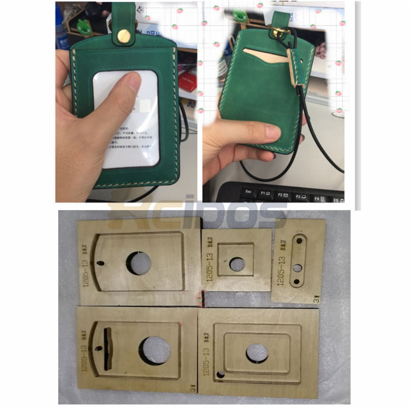 Bus Card/Working Certificate/Access Control Card Holder Cutting Die,RCIDOS Japan Blade Luggage Tag Cutter Mold