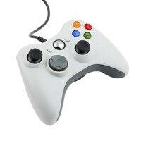 New USB Wired Controlador Para Xbox 360 Joystick Joypad Gamepad Preto Para Oficial Da Microsoft Para