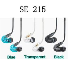 SE215 Noise Isolating Music In Ear Headsets Black Universal Fit Wired Earphones