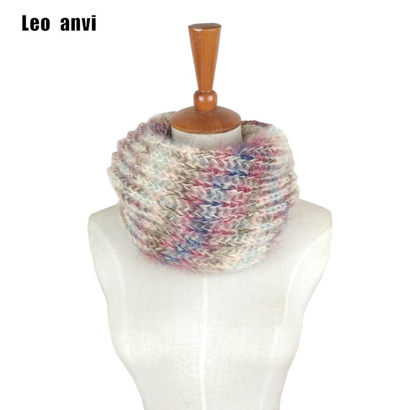 Tienda Online Leo anvi crochet bufanda infinity grueso invierno ...