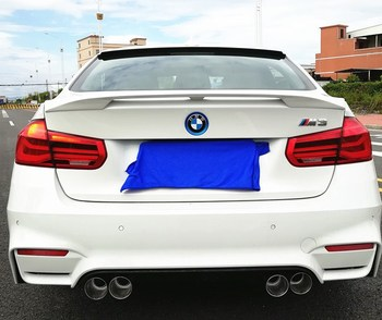 For BMW F30 F35 NEW 3 Series Spoiler High Quality ABS Material Spoiler For BMW ST style 320i 320li 325li 328i Spoiler