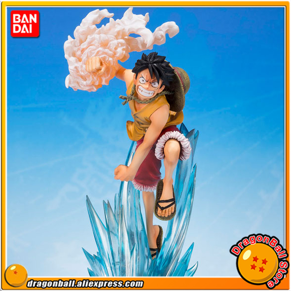 Japan Anime ONE PIECE Original BANDAI Tamashii Nations Figuarts ZERO Collection Figure - Monkey D. Luffy -Brother's Bond- japanese anime original bandai figuarts zero one piece 5th anniversary edition monkey d luffy