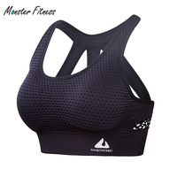 2018 Women Sports Bra High Impact For Fitness Yoga Running Pad Cropped Top SportsWear Tank Tops