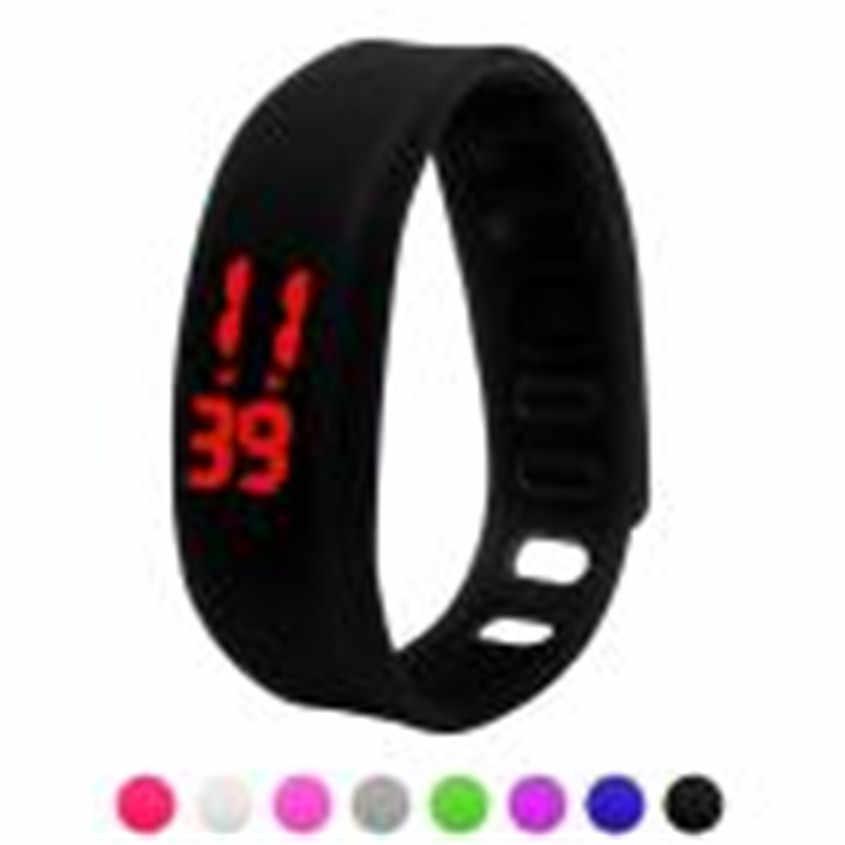 2018 נשים שעונים גברים גומי LED ספורט שעון ספורט דיגיטלי שעון יד צמיד Relojes Mujer