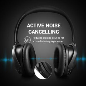 Image 2 - OneOdio Original A9  Active Noise Cancelling Wireless Headset With Mic Stereo Over Ear Bluetooth Headphones For Phones