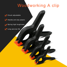 5Pcs 2/3/4/6 Inches DIY Tools Plastic Nylon Toggle Clamps For Woodworking Spring Clip Photo Studio Clamp Spring Clamp 80pcs 2inch spring clamp woodworking clamps