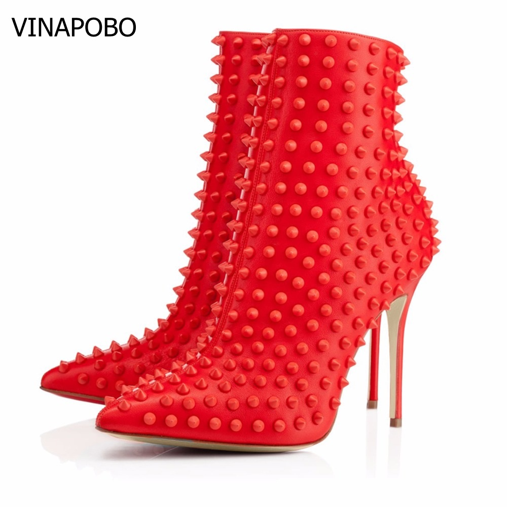 Socofy/Женские ботинки в стиле ретро; ботильоны из натуральной кожи на молнии с металлической пряжкой; женская обувь; Botines Mujer; 2019 - 3
