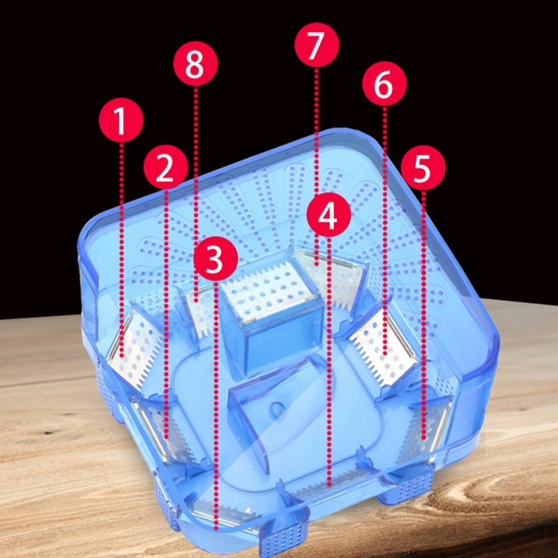 Image 5 - Efficient Reusable Cockroach Pest Traps with Bait Non Toxic Eco Cockroach Bug Catcher Catch Insect Pest Killer Traps Repeller-in Traps from Home & Garden