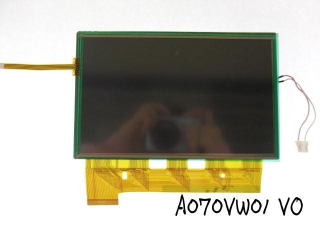 Auo lcd screen au 7 a070vw01 v0 car dvd product