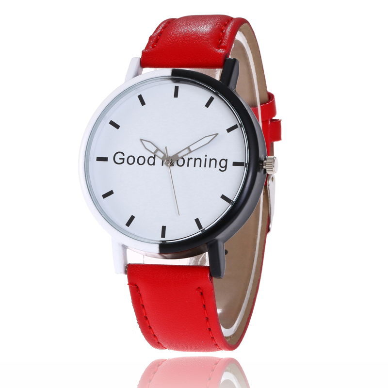 Good Morning Female Wristwatch 2017 Wrist Watch Women Ladies Brand Famous Clock Quartz Watch Girls Montre Femme Relogio Feminino