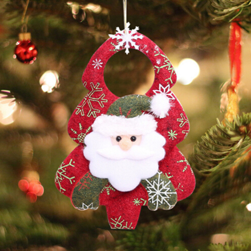 Happy New Year Christmas Decoration Santa Snowman Xmas Tree Garden Party Outdoor Indooe Festival Ornaments Hanging Pendant Gifts