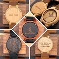 Logotipo Do Projeto personalidade Criativa MENSAGEM Relógio Personalização Gravado Esculpida Em Madeira Itens No Produto