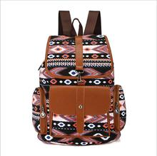 купить Hot! 2018 Women Fashion Backpacks Canvas School Bags For Girls Teenagers Printing Travel Bag Boho Bohemia Style Female Rucksack по цене 2663.87 рублей