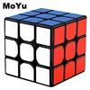 MOYU 3x3x3 магические кубики профессиональные скоростные вращающиеся кубики Magicos 3 на 3 скоростные кубики классические детские игрушки для детей MF3SET