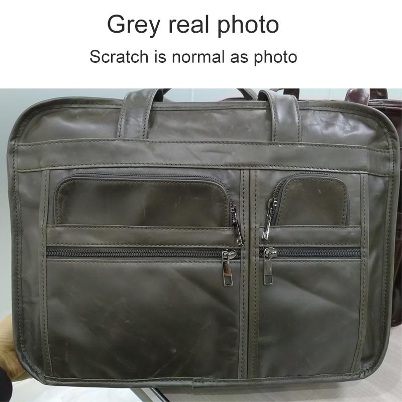HTB12GNsfInI8KJjSsziq6z8QpXaq WESTAL men's genuine leather bag for men's briefcase office bags for men leather laptop bag document business briefcase handbag