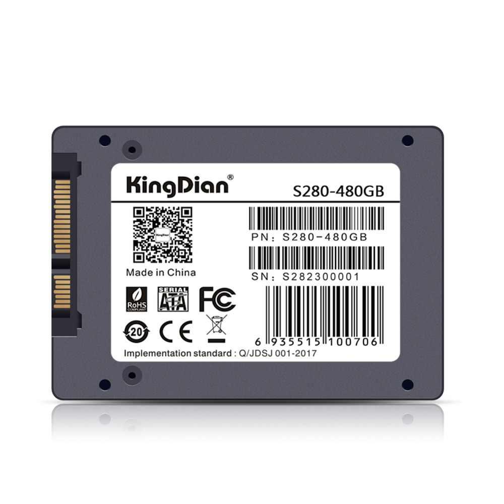 KingDian хит продаж S100 32 Гб S400 120 S280 240/480 ГБ SSD 2,5 ''SATA3 Внутренний твердотельный накопитель HD Жесткий диск для ноутбука, настольного компьютера, ПК