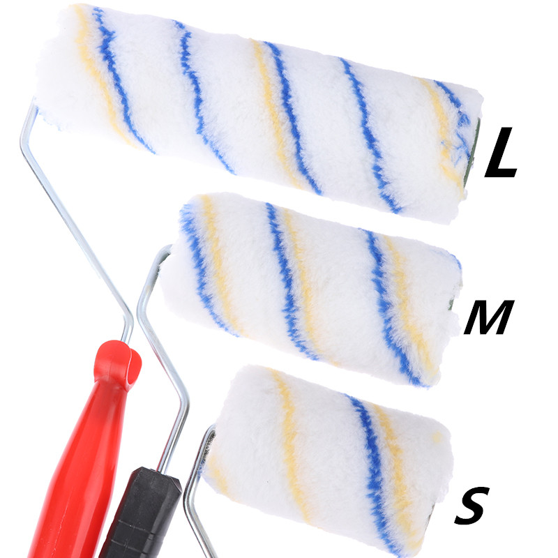 1pc Practical Multifunctional Paint Roller Brush Household Use Wall Brushes Tackle Roll Decorative Painting Brush Tool