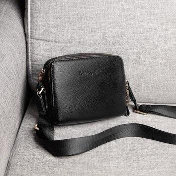 00304752c1adc Ayakkabıcı Legend erkek omuz çantası Hakiki Deri erkek çanta Küçük Rahat  Çanta Moda Küçük Siyah Çanta Crossbody Çanta Erkekler için