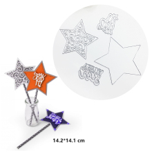 Julyarts 4 Pcs New Arrived Star Metal Cutting Die 2019 For Scrapbooking Paper Card Decor Gift Making Dies