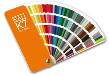 Original Germany RAL K7 international standard color card raul   paint coatings color card  for paint 213 colors with Gift Box