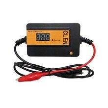 Desulfator clen 2a 200ah inteligente 12v24v36v48v, bateria de pulso automático, regenerar, baterias chumbo ácido