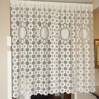 1piece Korean Style Door Screens 2 Designs Door Curtains Polyester Net Yarn Rustic Kitchen Bedroom Door