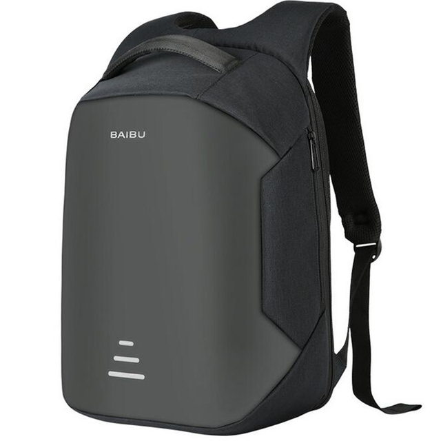 Men Anti theft Backpack multifunctional Oxford Casual Laptop ...