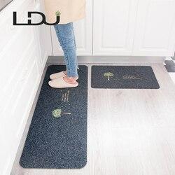 RULDGEE-tapis de sol antidérapant, à Absorption d'eau et d'huile, Long, pour porte de cuisine, salle de bains