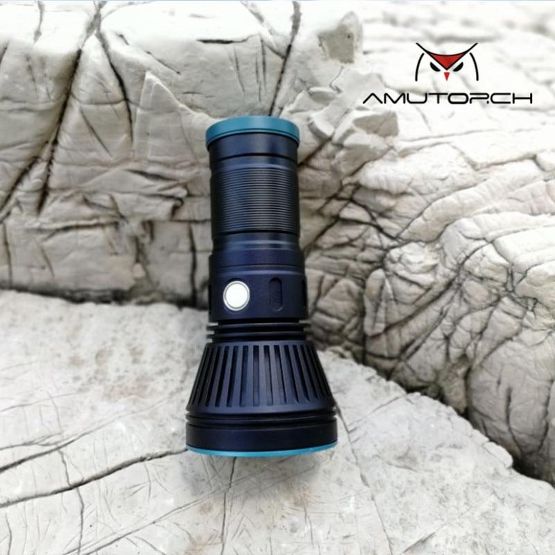 Amutorch AM30/33 cree XHP70.2 30 w 4000 Lumens poderosa lanterna LED usb magnetic carregamento Brilho lanterna recarregável 18650