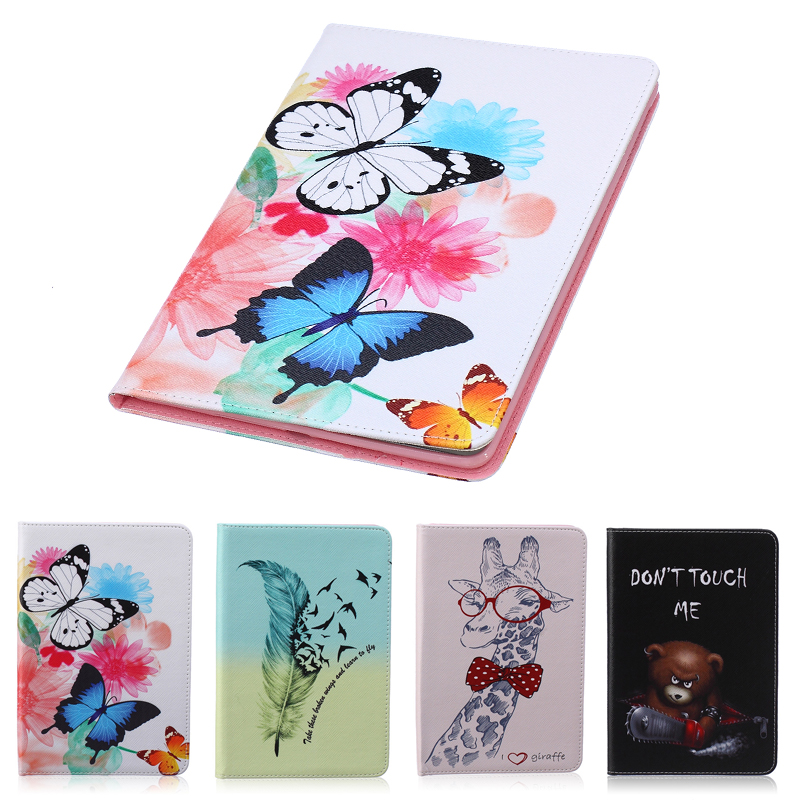 Stand Case for coque Samsung Galaxy Tab A 9.7 T550 T551 T555 Case Cover for Samsung Galaxy Tab A 9.7 Case with Stand Card Holder