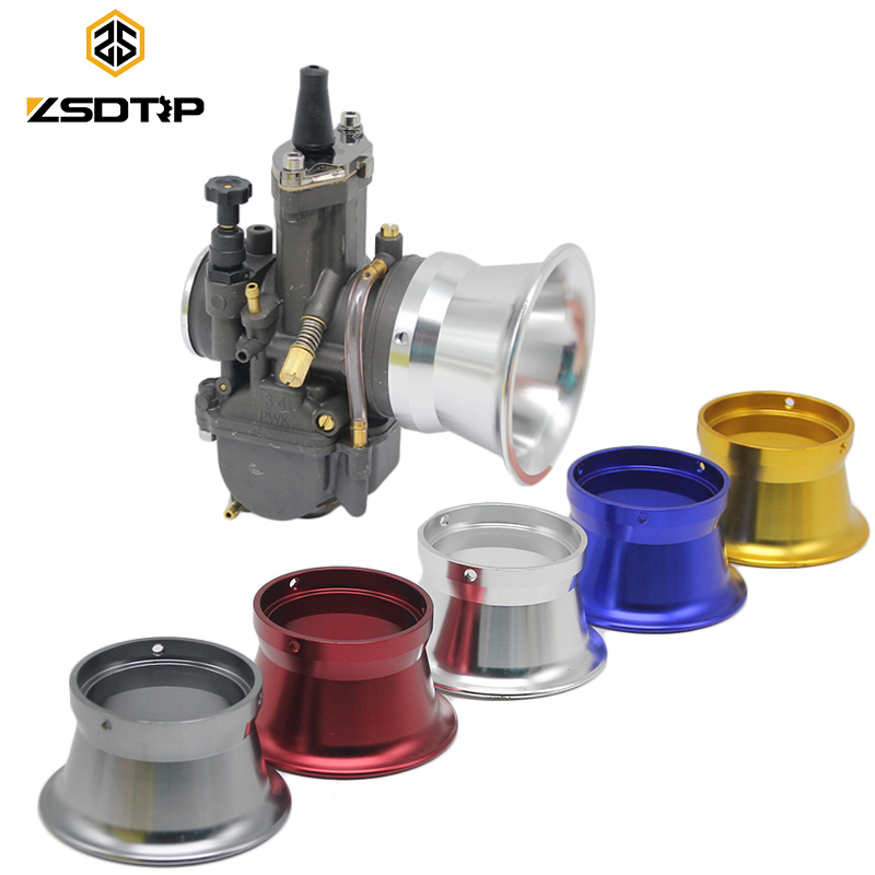 ZSDTRP 55mm Motocross Motorcycle Modified Carburetor Air Filter Cup The Wind Cup Horn Cup for KEIHIN PWK OKO KOSO 32mm 34mm modified motorcycle accessories refires horn trolley belt oil pump cnc general horn refires