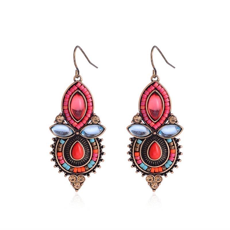 Bohemia Σκουλαρίκια Γυναικών Brincos 2018 - Κοσμήματα μόδας - Φωτογραφία 3