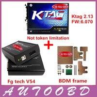 Full Set KTAG V2 13 No Token Limitation ECU Programming Tool K TAG FW V6 070
