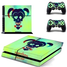 Harley Quinn Joker Batman Superman PS4 Skin Sticker Decal Vinyl for Sony Playstation 4 Console and Controllers PS4 Skin Sticker