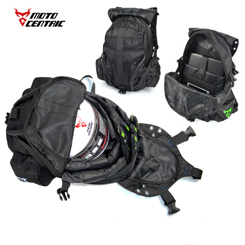Multifunction Luggage Motorcycle Reflective Label Bags Waterproof Motorbike Backpack Helmet Bag Racing Off Road Bolsa Zaino Moto