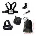 Ação do esporte Da Câmera kit de Acessórios para a Cabeça No Peito Gopro Wrist Mount xiaomi yi sjcam sj4000 camera strap para go pro hero 30