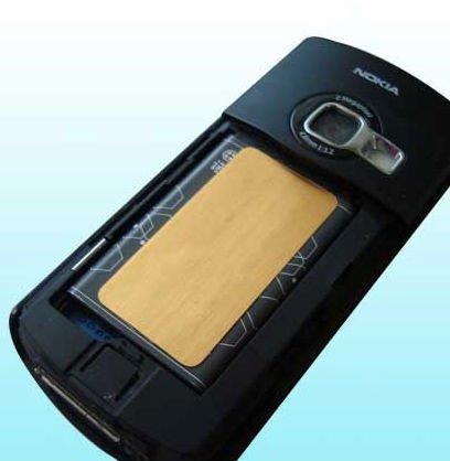 Vente en gros autocollant Anti rayonnement et de récupération de batterie (puce de batterie anti rayonnement) 3G