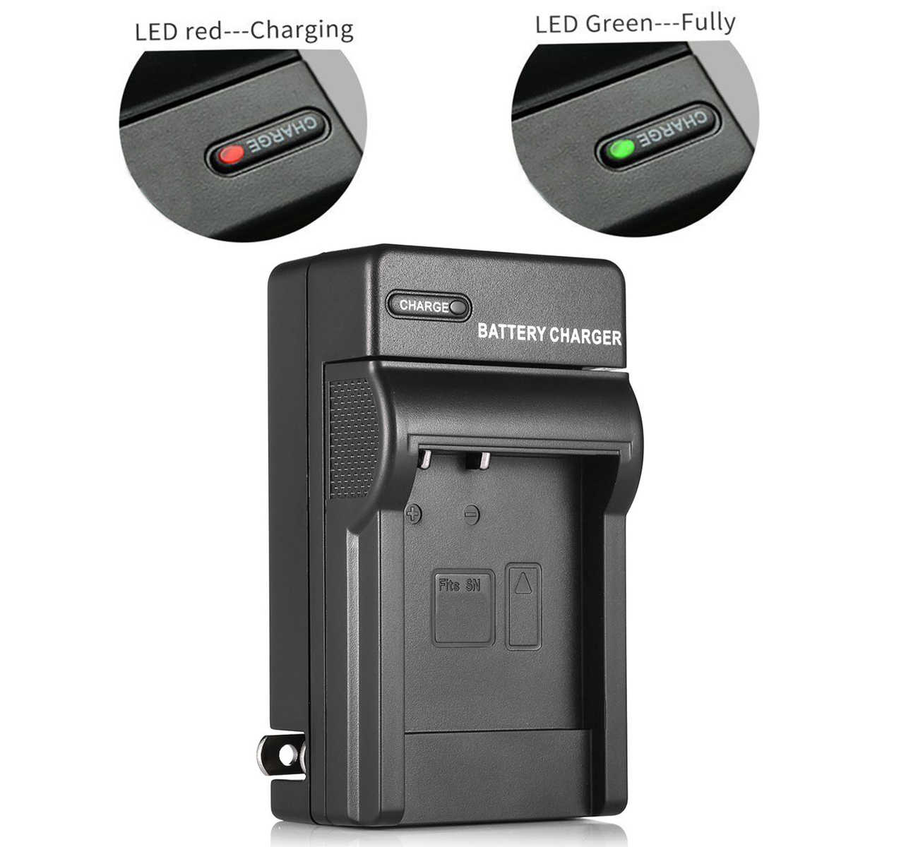 2in1 Dual USB Charger per Olympus OM-D E-M10 Mark II Penna Mark III E-PL9