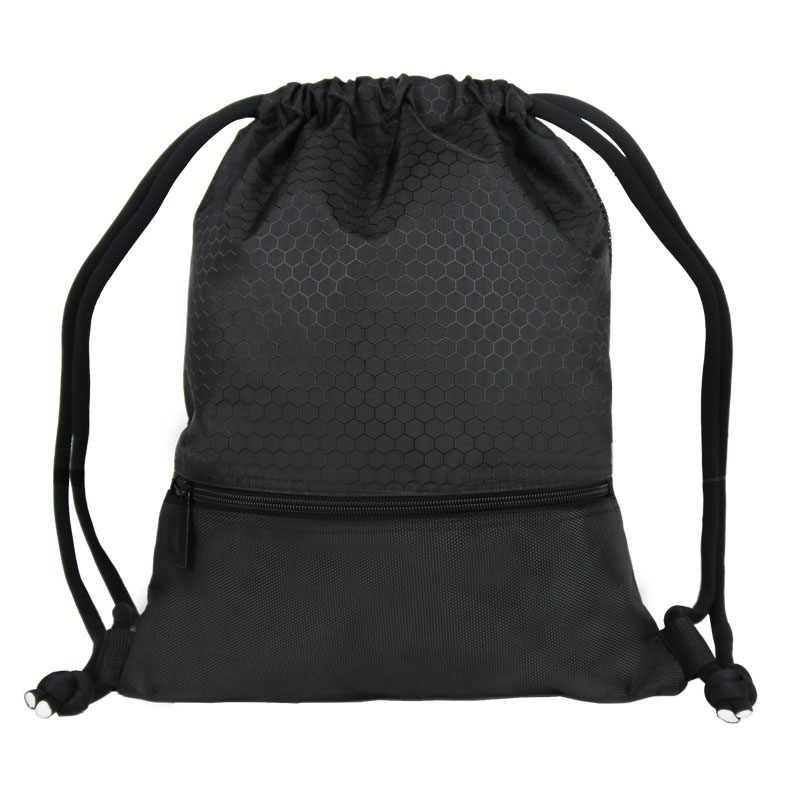 98cc649fb2 Drawstring Backpack Men Women Waterproof Lightweight Trave Drawstring Bag  Fashion Shoulder Bag for Teenager Boys Girls