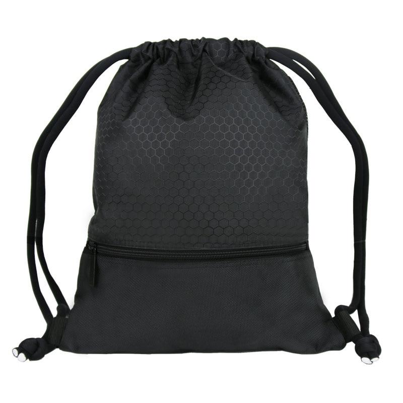 Drawstring Backpack Men Women Waterproof Lightweight Trave Drawstring Bag Fashion  Shoulder Bag for Teenager Boys Girls navo fashion drawstring backpack shoe bag multi room 100