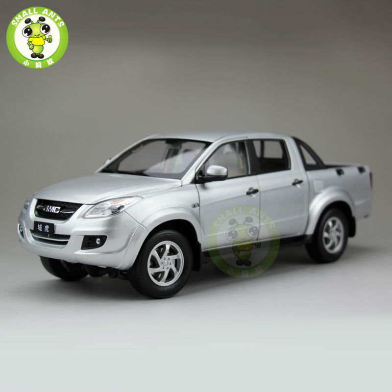 1:18 Scale China JiangLing JMC Pickup Truck Diecast Car Model Silver zildjian 18 zbt china
