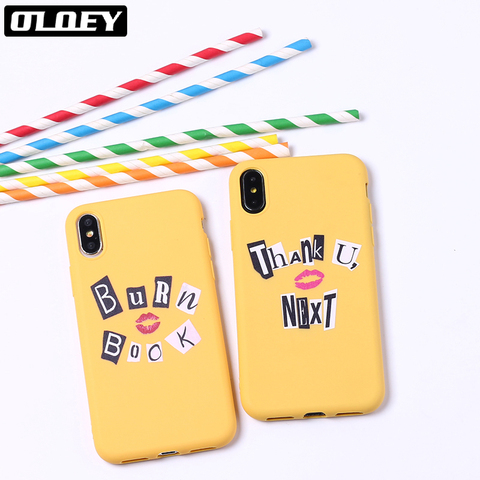 Thank You Next Ariana Grande 7 Rings Soft Silicone Candy Case Coque For iPhone 6 6S 5S SE 8 8Plus X XR XS Max 7 7Plus 8Plus Pakistan