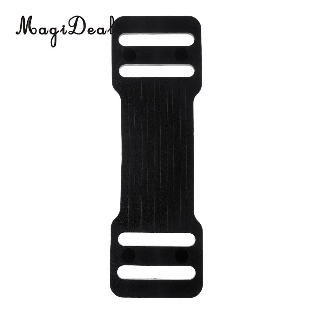 MagiDeal Performance High Strength TPE Anti-Slip Grip Strap Pad for Scuba Diving Tank Cylinder Bottle