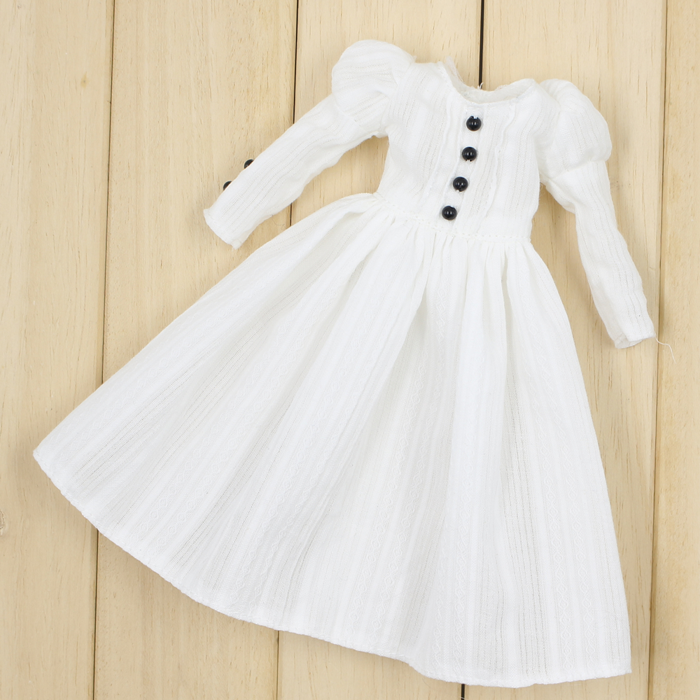 For blyth doll icy licca body white dress for 12 blyth doll trend white dress clothing blyth doll