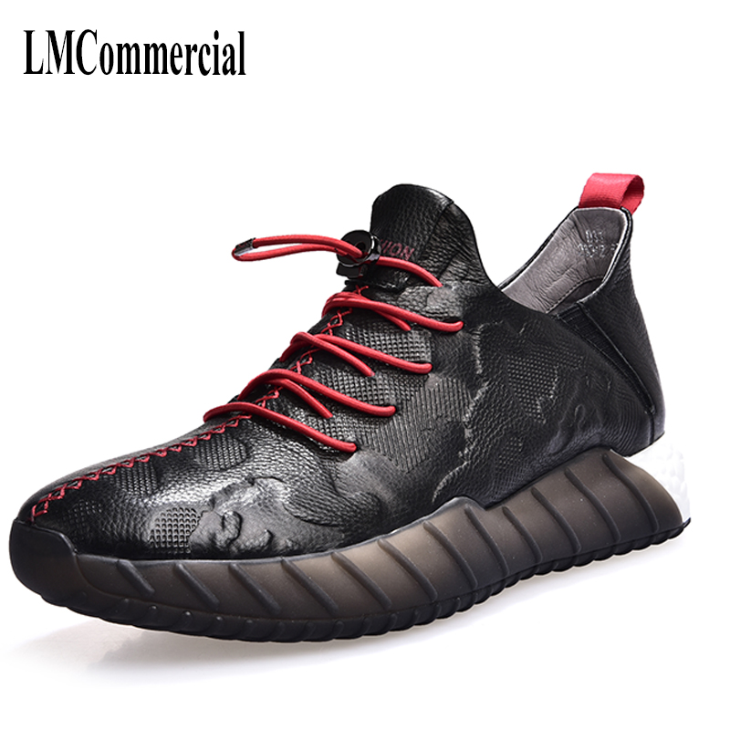 spring and autumn men autumn winter British retro men shoes male leather shoes cowhide all match