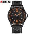 Lo nuevo de CURREN reloj de cuarzo 2016 relogios masculinos de luxo marcas famosas Reloj con Correa de Cuero de Negocios horloge