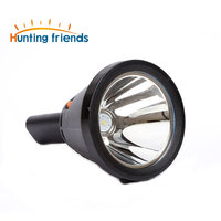 12pcs/lot Hunting friends Powerful LED Flashlight Portable Light 18650 Lithium Battery Torch Waterproof Rechargeable Flashlight