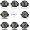 10Pcs Lot 18X10W RGBW Quad Color Silent Par Lights High Quality Indoor Flat LED Par Lights